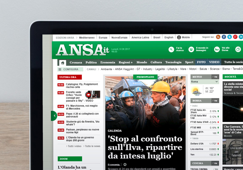 ANSA Corporate: ANSA.it © Ansa