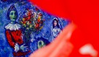Un quadro di Chagall: Dream of love' (ANSA)