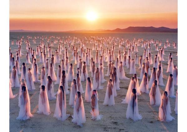 I Nudes di Spencer Tunick © ANSA