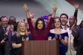 Gretchen Whitmer, la governatrice del Michigan (ANSA)