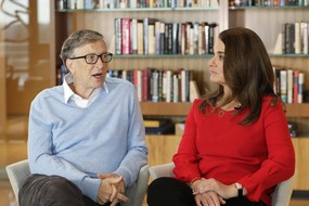 Bill e Melinda Gates (ANSA)