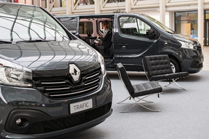 Trafic Space Class, la business lounge secondo Renault (ANSA)