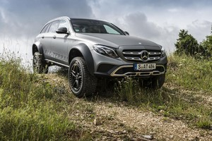 Mercedes Classe E All-Terrain ora un incredibile Bigfoot (ANSA)