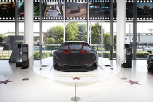 Film Emotions: in mostra le più importanti Lamborghini del cinema (ANSA)