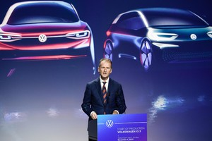 Production beginn of Volkswagen ID.3 electric car (ANSA)