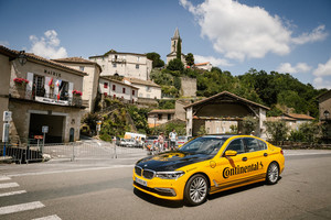 Continental tra i main partner del Tour de France (ANSA)