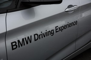 Bmw driving experience a Vallelunga (ANSA)