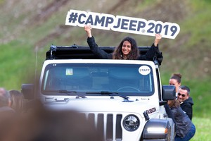 Gladiator, Wrangler e tanti altri off-road Jeep al Camp 2019 (ANSA)