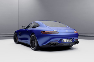 Mercedes AMG GT coupé e roadster, via agli ordini (ANSA)