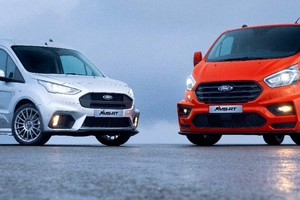 Ford Transit, ecco versioni 'spinte' ispirate a rally WRC (ANSA)