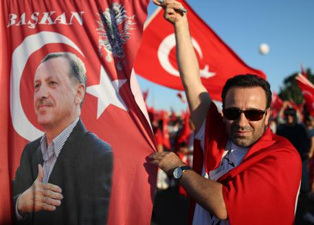 Two year anniversary of failed attempted coup d'etat in Turkey © EPA