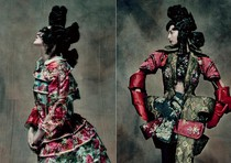 Rei Kawakubo Exhibition Rei Kawakubo (Japanese, born 1942) for Comme des Garons (Japanese, founded 1969). 18th-Century Punk, autumn/winter 2016?17; Courtesy of Comme des Garons. Photograph by Paolo Roversi