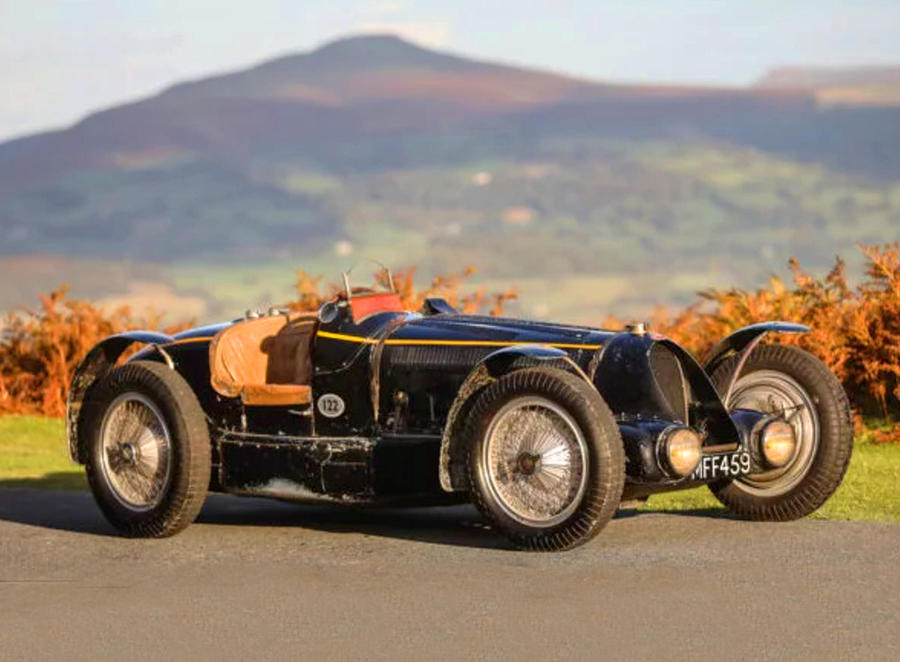 Bugatti Type 59 Sports © Ansa